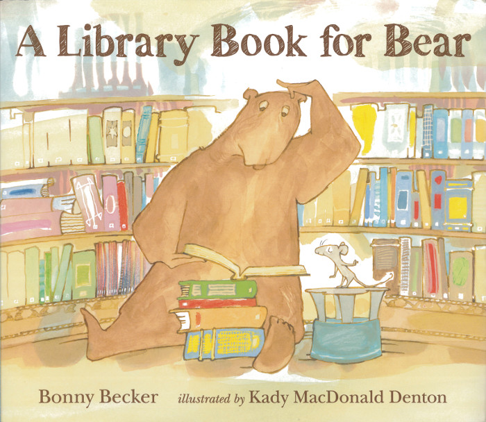 Cover of A Library Visit for Bear